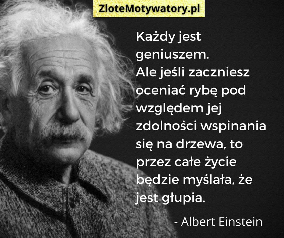 Albert Einstein cytaty