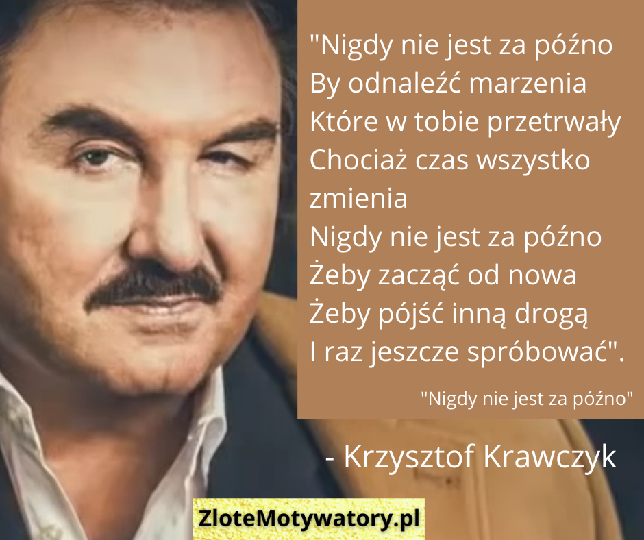 Krzysztof Krawczyk cytaty